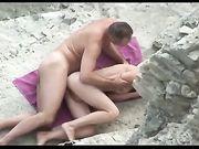 Knuffel op het strand
