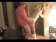 Rijpe vrouw neukt met de buurman